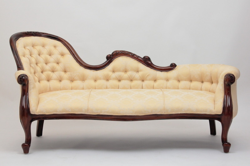 Victorian Single-End Show-Frame Sofa
