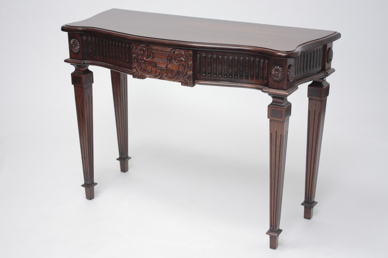 George III Medium Urn Console Table
