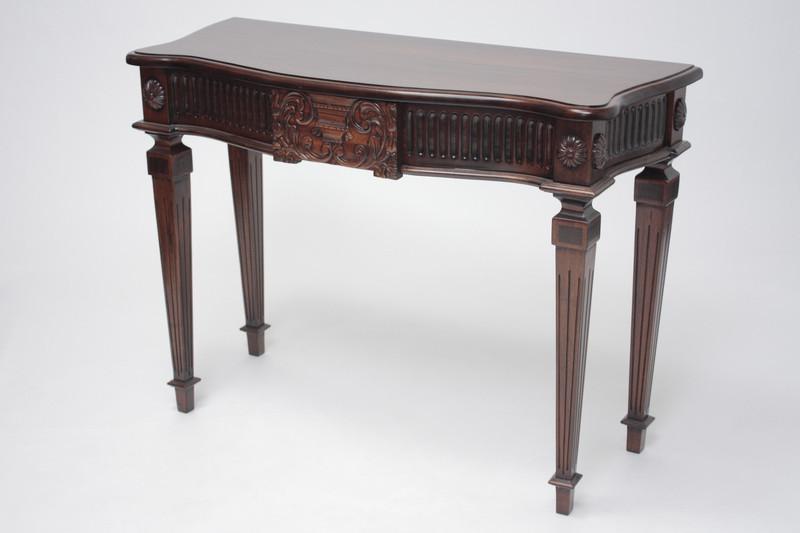 George III Medium Urn Console Table