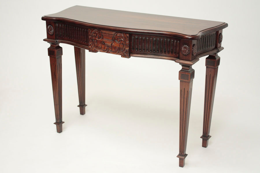 George III Large Urn Console Table