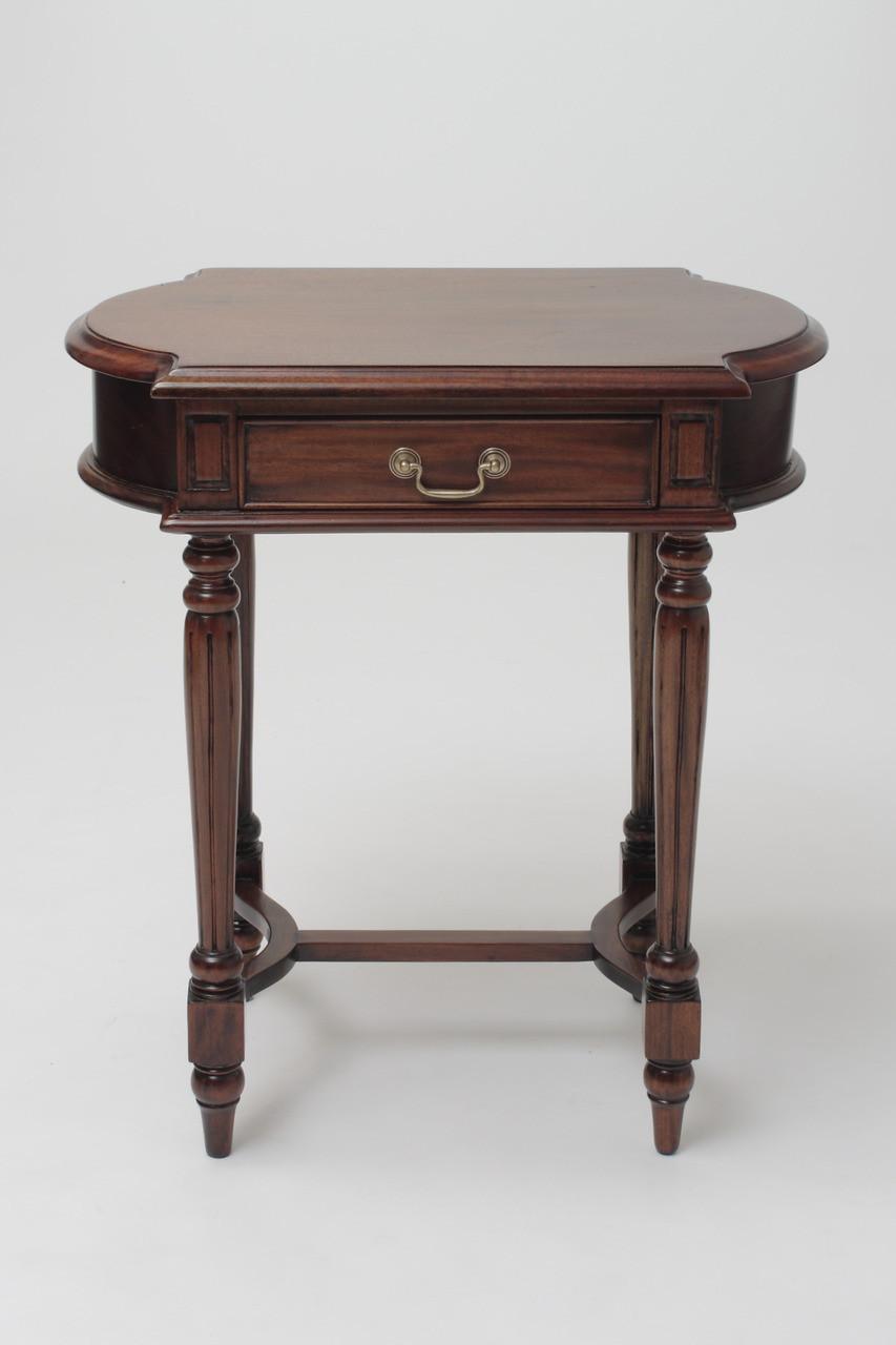 Wonderful Mahogany Oval Side Table