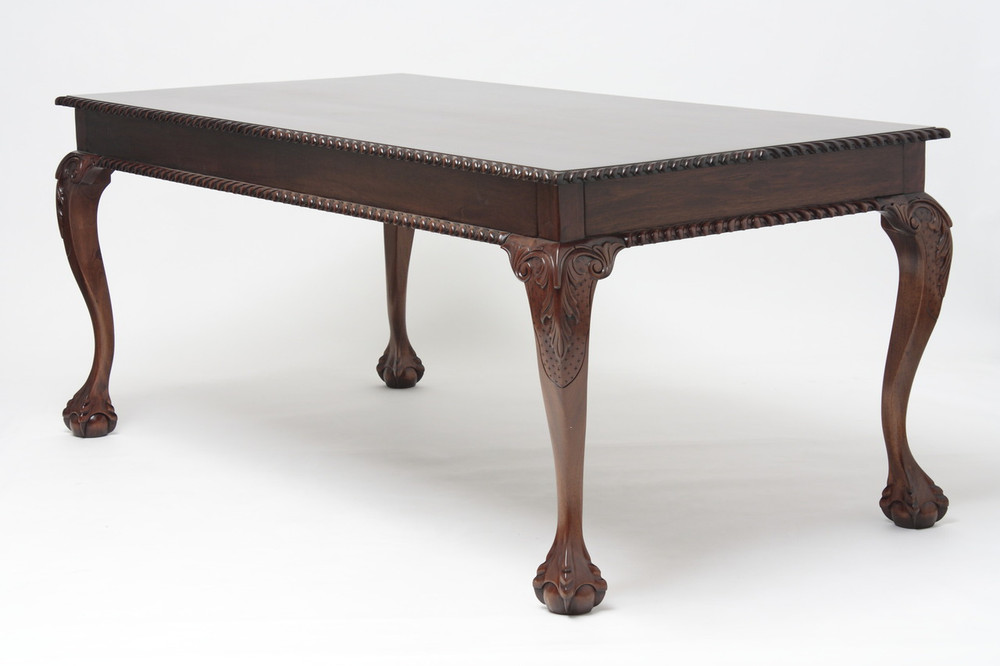Pictures Of Dinner Tables chippendale style dining tables - mahogany dining room tables