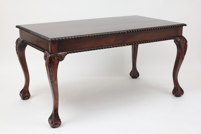Medium Chippendale Rectangular Dining Table