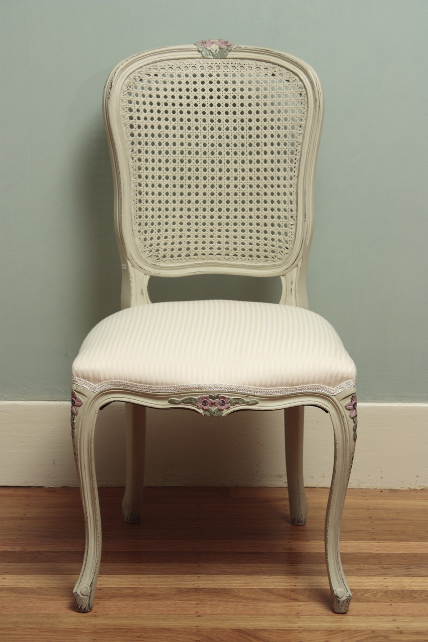 Cane Back Chair Laurel Crown