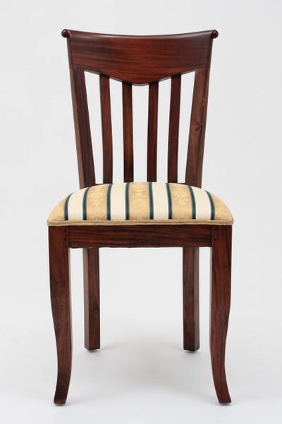 Biedermeier Slat Back Side Chair