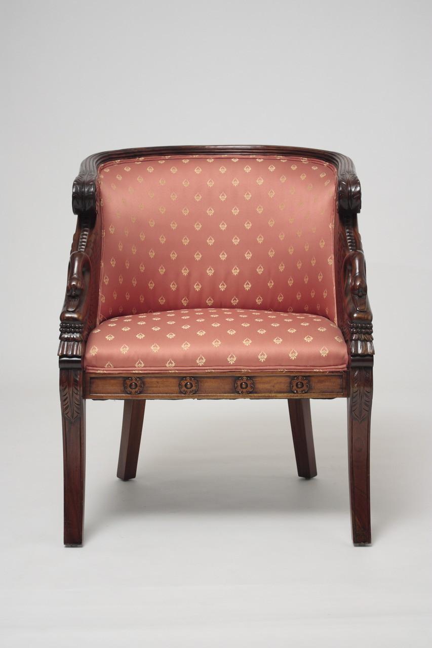 Merveilleux Empire Swan Club Chair