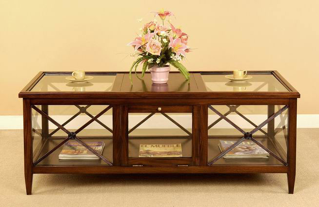 Pavilion Glass Coffee Table