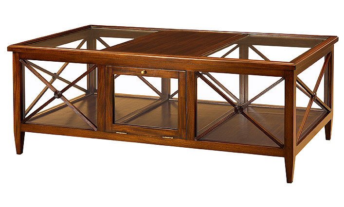 pavilion glass coffee table laurelcrown. Black Bedroom Furniture Sets. Home Design Ideas