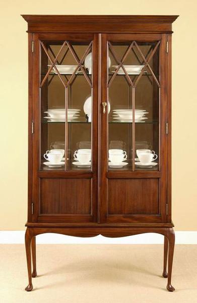 Marvelous Regency Style Curio Cabinet