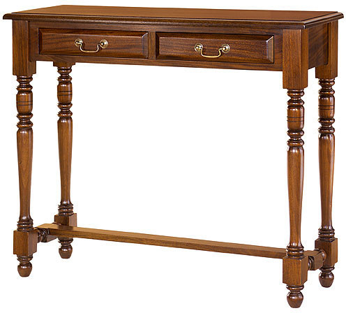 Entry Hall Table with Two Drawers