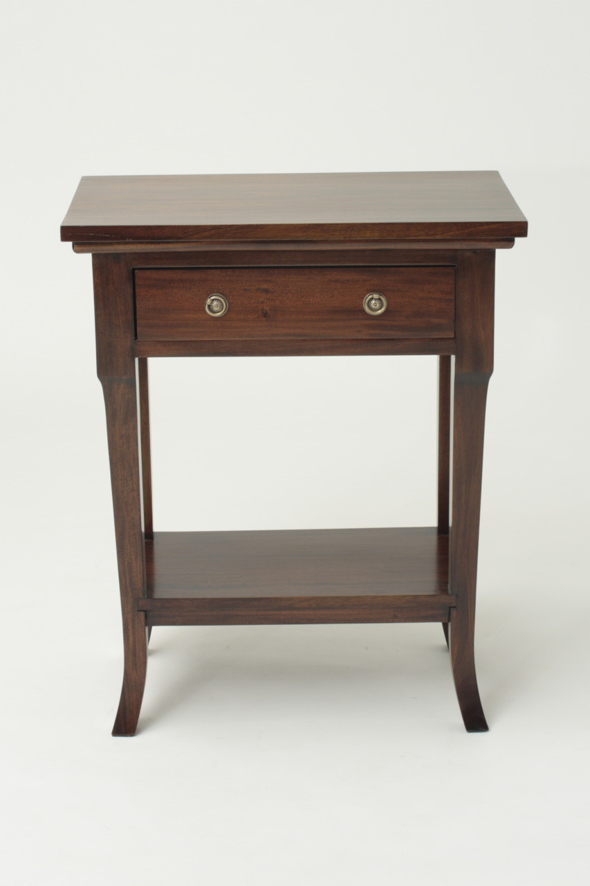 Biedermeier Side Table Laurel Crown