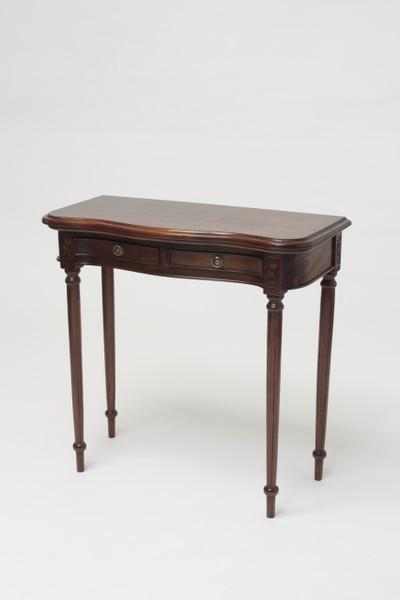 Sheraton Serpentine Hall Table