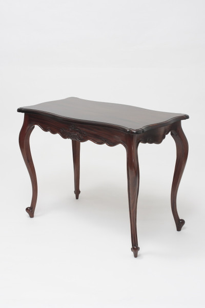 Louis XV Flower Carved Hall Table