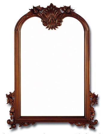 Rococo Revival Rocaille Wall Mirror