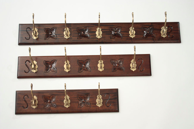 Mahogany Coat Rack – Large