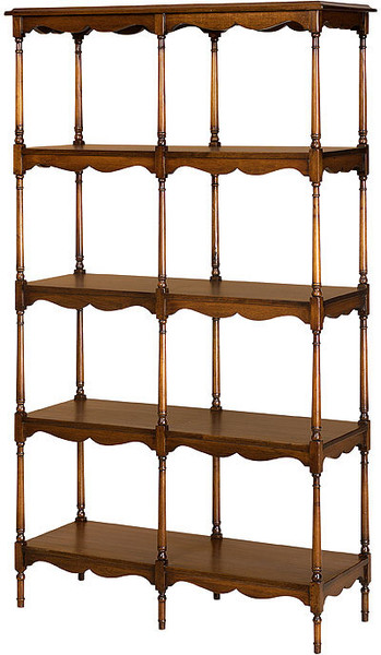 Victorian Open Display Shelves
