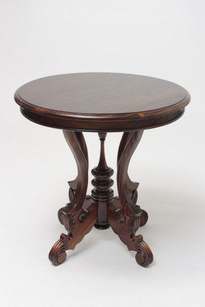 Victorian Round End Table