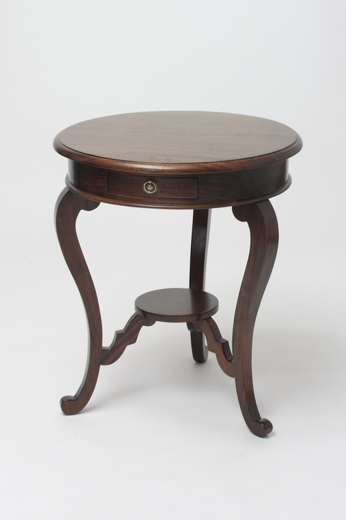 Charmant Mahogany Round Occasional Table · Image 3 · See 2 More Pictures