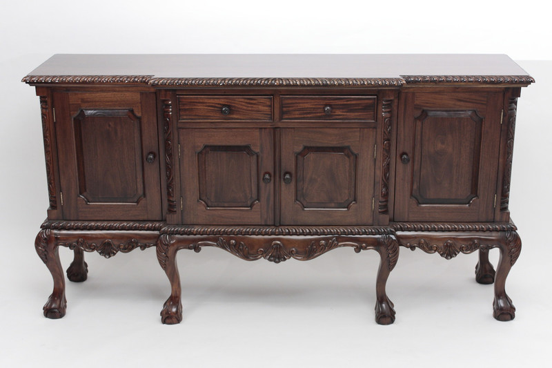Beautiful Chippendale Sideboard With Ball And Claw Feet