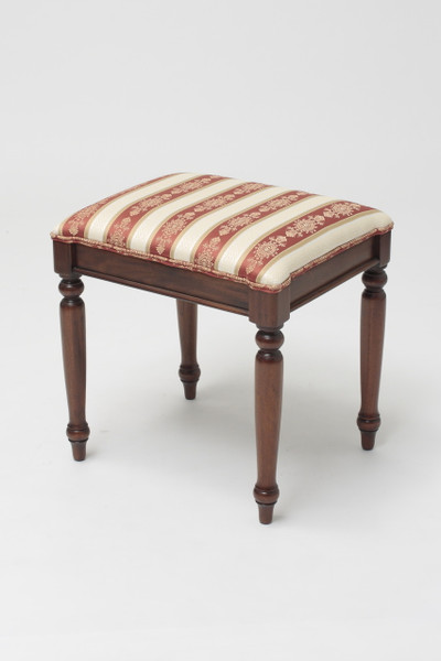 French Sleigh Stool & Antique Wooden Footstools u0026 Upholstered Entryway Benches | Laurel ... islam-shia.org