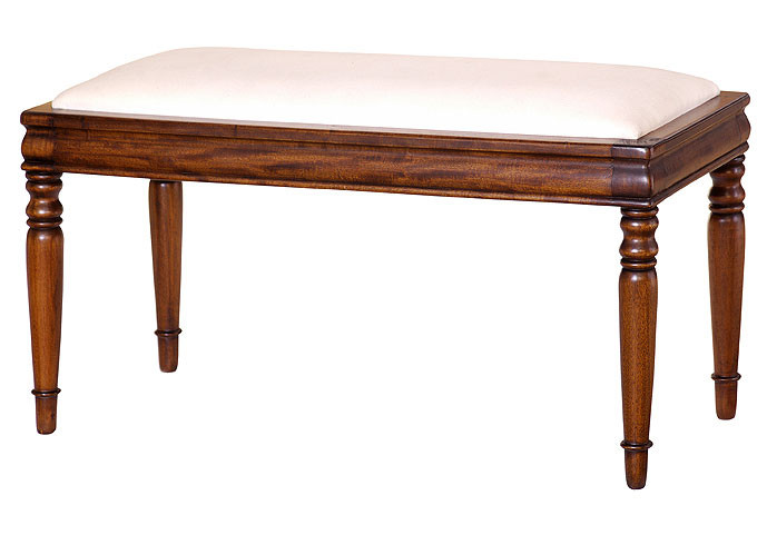 Antique Foyer Bench : Antique entryway bench laurel crown