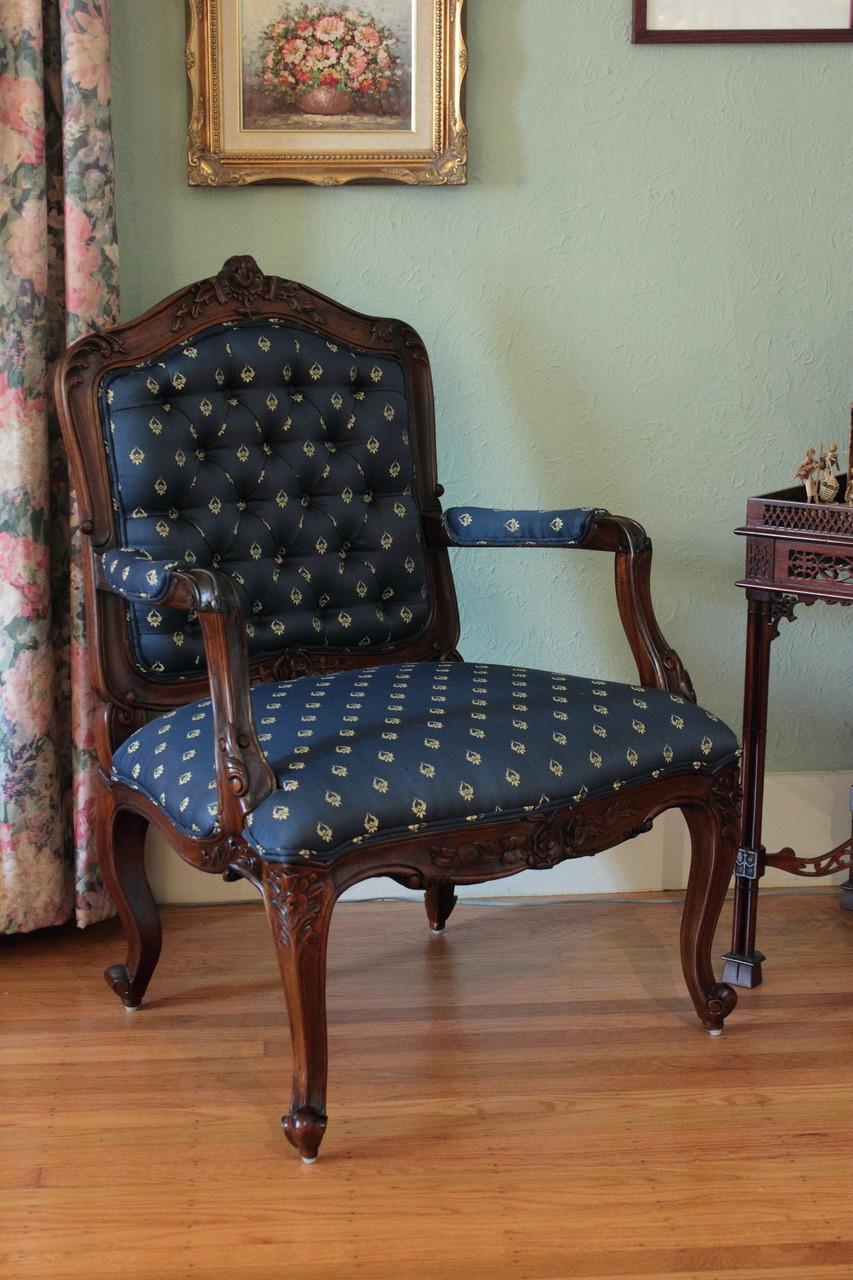 Fauteuil Chair Laurel Crown