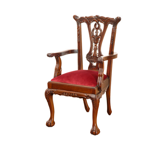 Child size Chippendale Armchair  sc 1 st  Laurel Crown Furniture & Antique Childu0027s Armchair | Laurel Crown