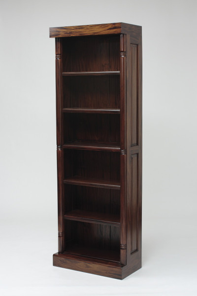 Medium Plain Mahogany Bookshelf