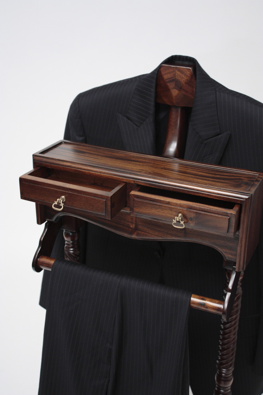 Our Clothes Valet Stand Elegantly Hold Suit Jackets, Dress Pants, And Menu0027s  Accessories