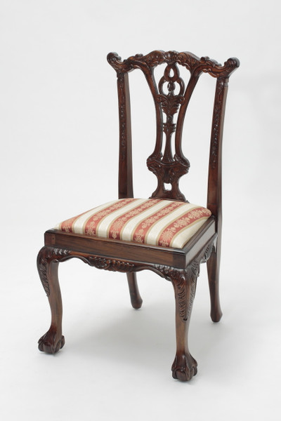 Chippendale Mahogany Ball and Claw Chairs