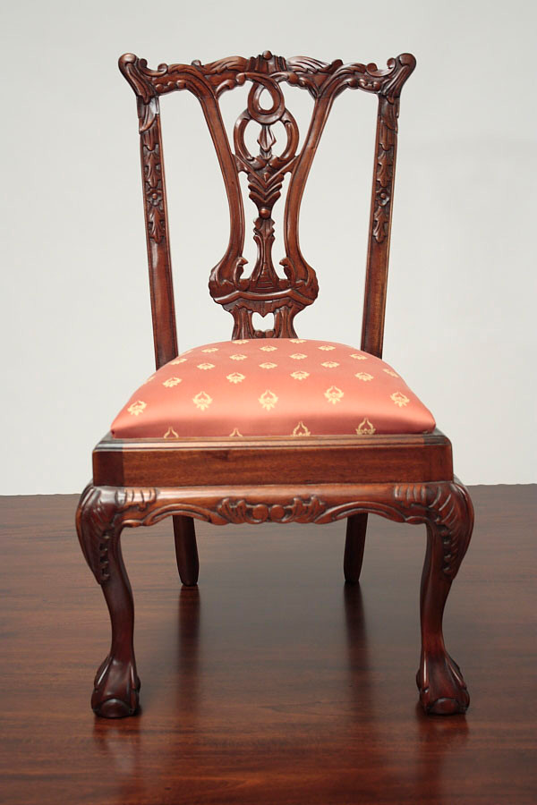 Antique Child S Chair Laurel Crown