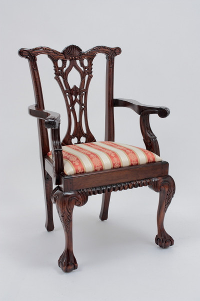 Antique Chippendale Armchair