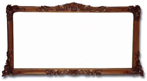 Mahogany Dresser Mirror