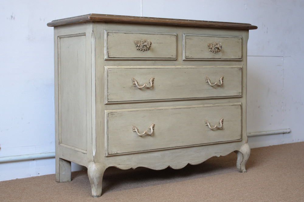 French Country Pine Chest Of Drawers 194 Antique