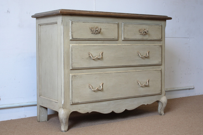French Country Pine Chest of Drawers