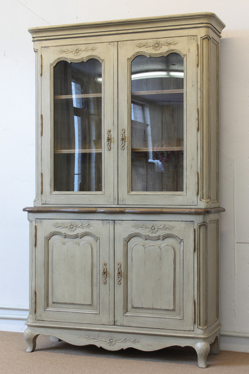 French Country Hutch Antique Reproduction Furniture From