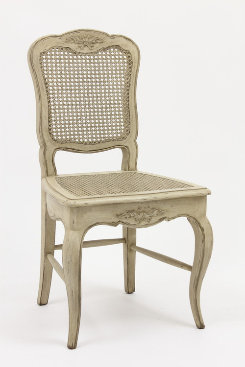 French Country Cane ChairAntique Reproduction Furniture from