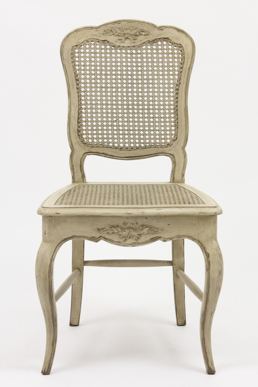 French Country Cane Chair