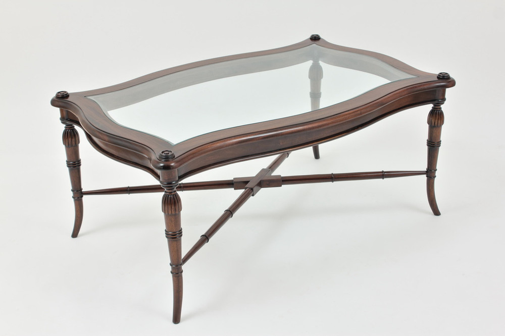 Empire Glass Coffee Table