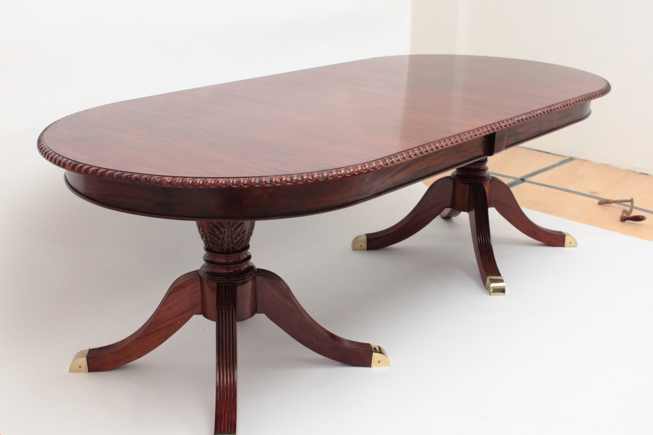 home dining room regency extension dining table with leaf 8 39 to 10 39