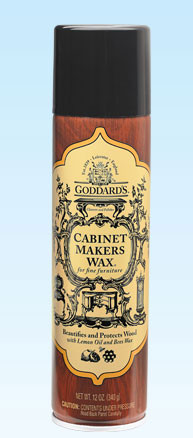 Goddard's Cabinet Makers Wax Aerosol (Formally Furniture Polish Aerosol) - 6 Pack