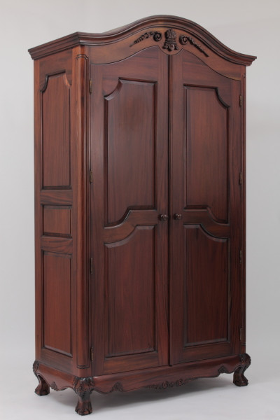 victorian armoire built by laurel crown