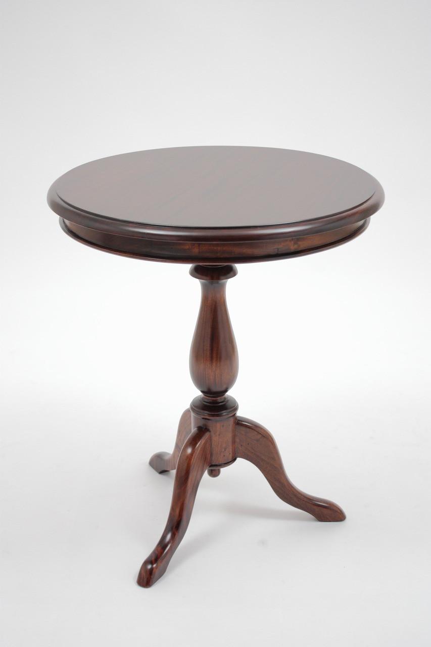Medium Pedestal End Wine Table