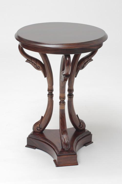 ... Empire Swan Wine Table. Image 1