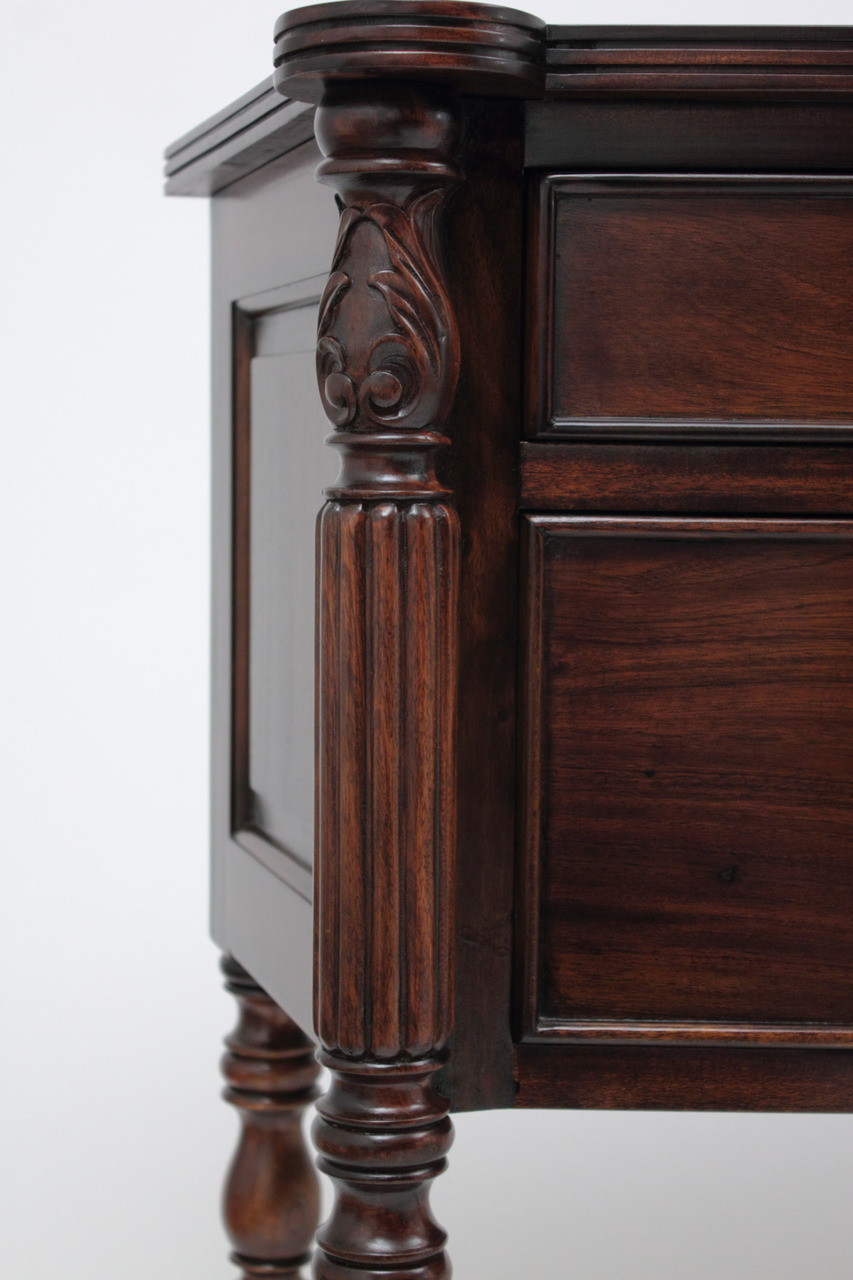 Antique Inspired Sideboards Handmade Solid Mahogany