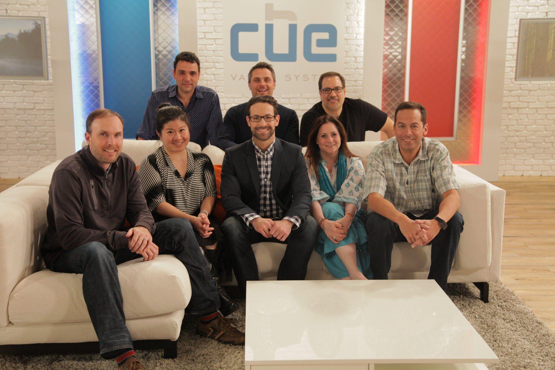 Cue Vapor Team photo
