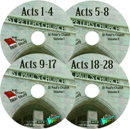 Acts  (4) MP3-CD Set or Download