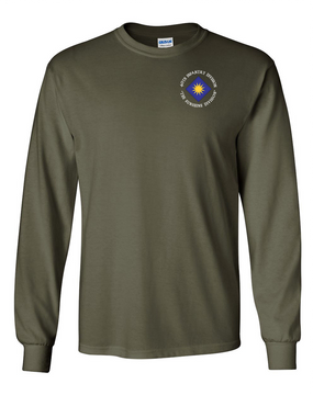 40th Infantry Division Long-Sleeve Cotton T-Shirt (C)