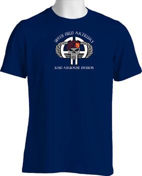 319th Airborne Field Artillery Cotton Shirt
