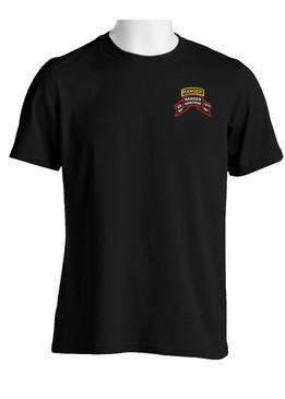 "2-75th Ranger Battalion ""Original Scroll""  w/ Tab Cotton Shirt"